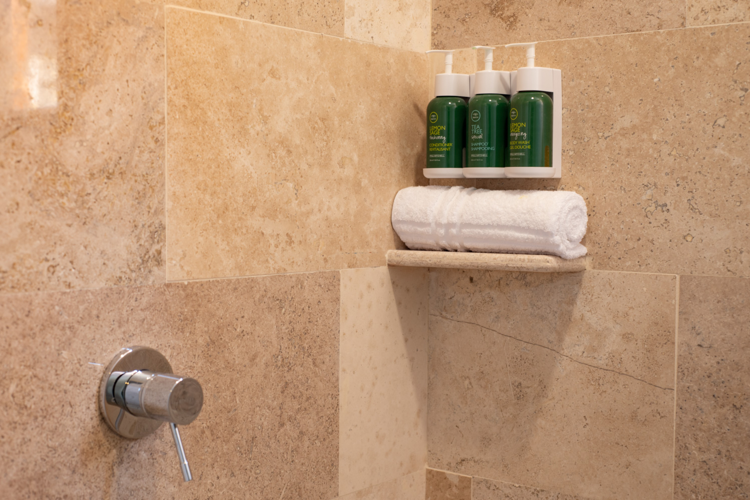 TEA TREE AMENITIES IN ALL OUR BATHROOMS
