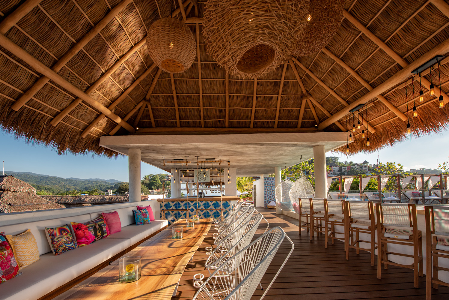 OUR ROOF BAR GIVE YOU THE BEST VIEW OF SAYULITA