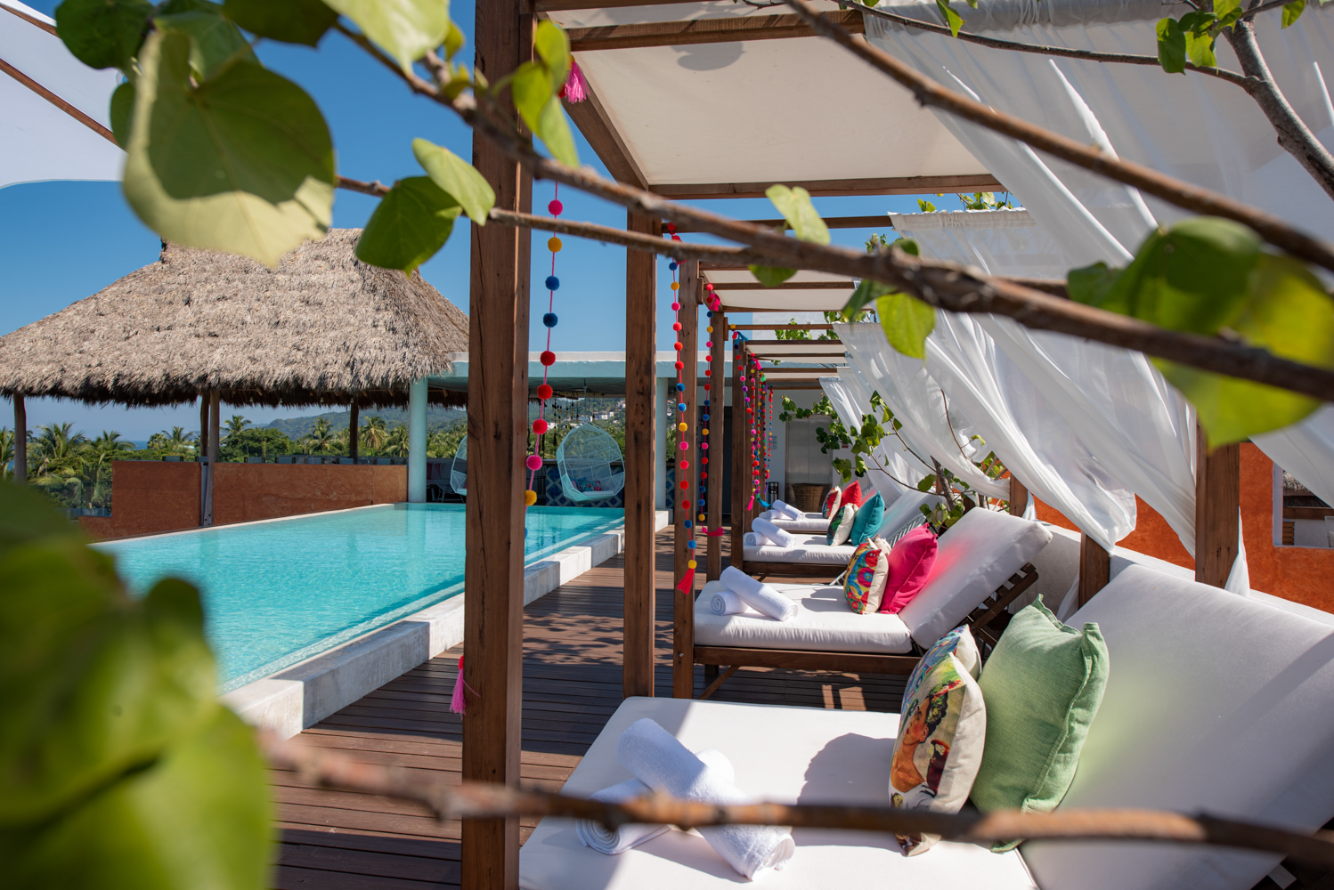 RELAX UNDER THE SUN WITH OUR CABANNAS